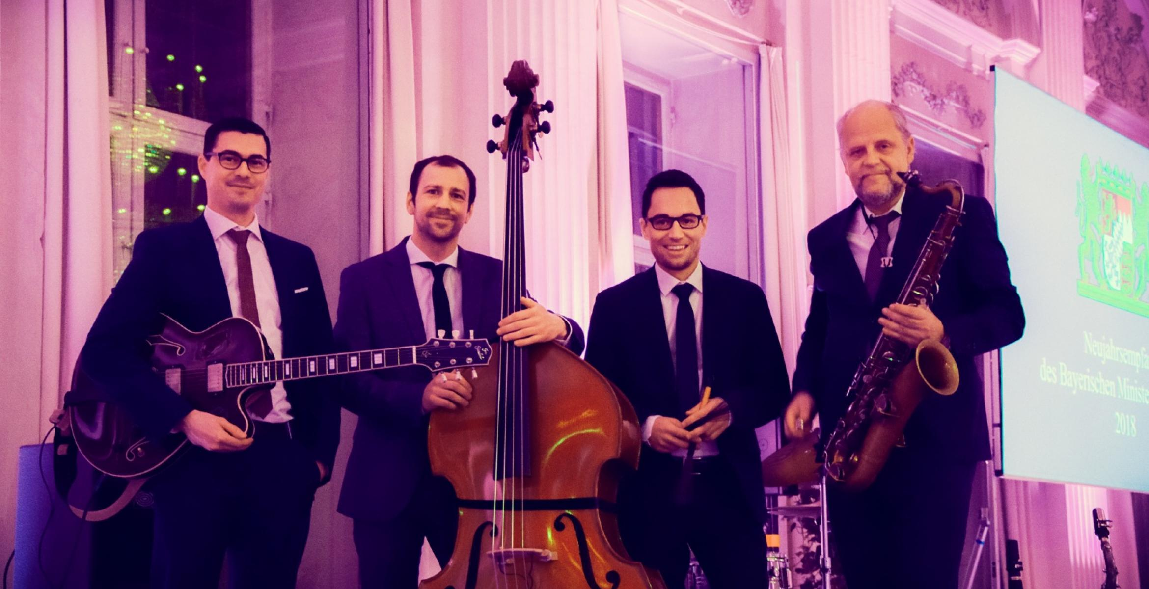 Jazz-Quartett, Live, Residenz München, Incredible Jazz Combination